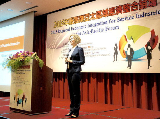 ASR Presents at the 2015 Regional Economic Integration for Services Industries in the Asia Pacific Forum